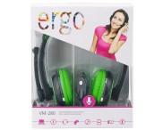 Мультимедийная гарнитура Ergo VM-280 Green